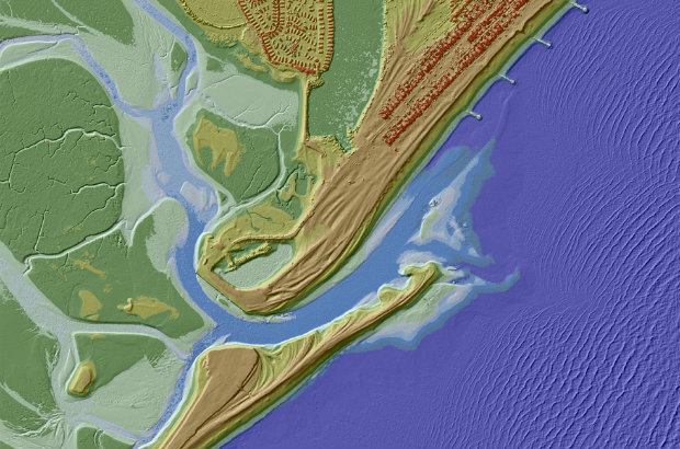 Coastal LIDAR data