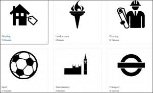 Screenshot from London Datastore.