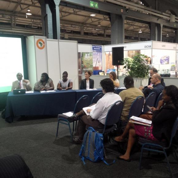 Panelists at the GODAN session at GFIA Africa 2015