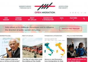 Capture open migrants