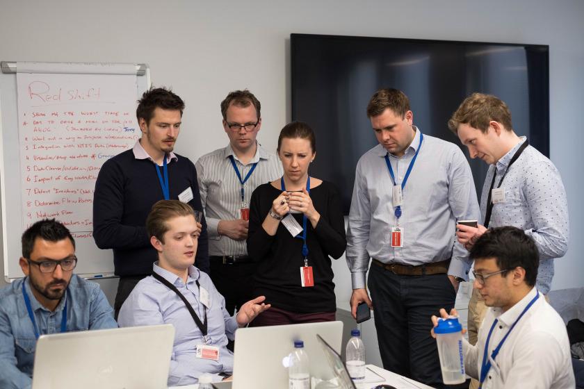 teams working